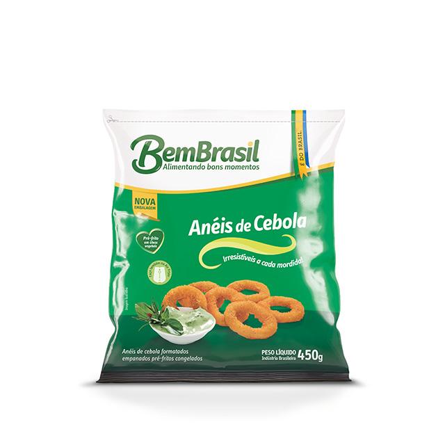 ANEIS DE CEBOLA EMPANADOS BEM BRASIL 450G