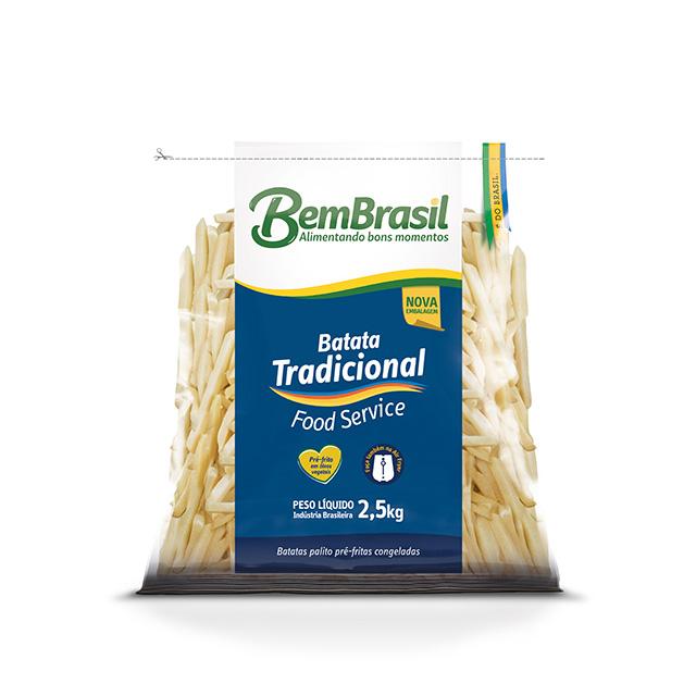 BEM BATATA TRADICIONAL BEM BRASIL 2,5KG