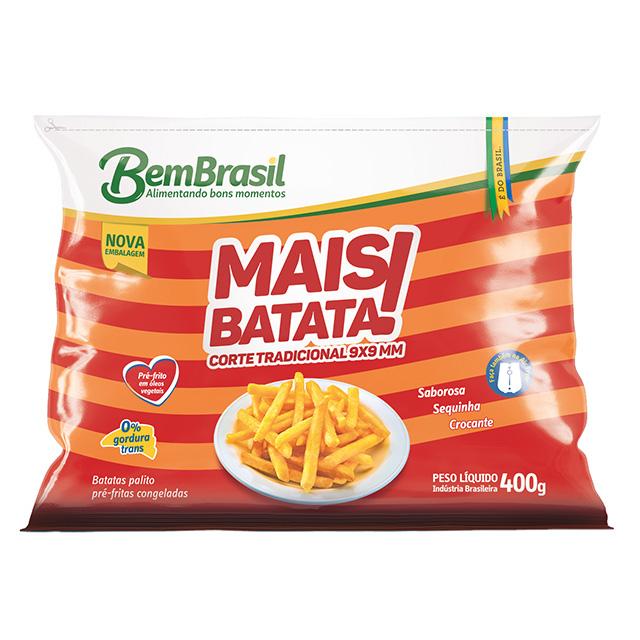 MAIS BATATA TRADICIONAL BEM BRASIL 400G