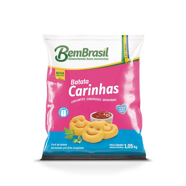 BEM BATATA CARINHAS  BEM BRASIL 1,05KG