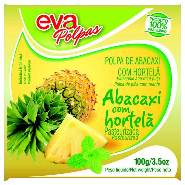 POLPA ABACAX/HORTELA EVA 100G