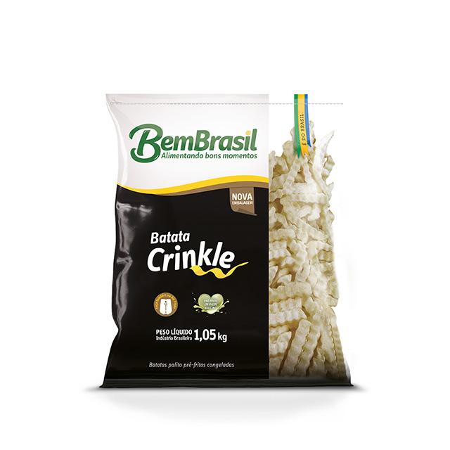BATATA BB CRINKLE BEM BRASIL 1,05KG