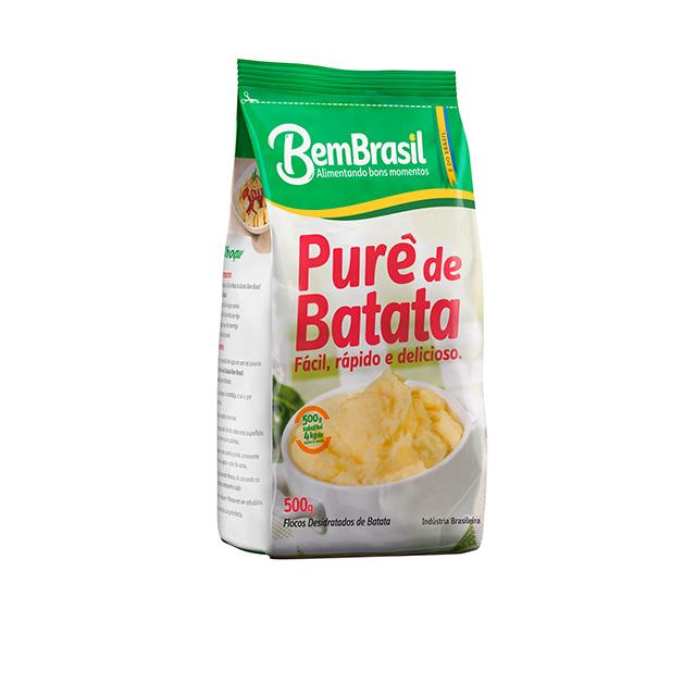 PURE DE BATATA DESIDRATADA BEM BRASIL 500G
