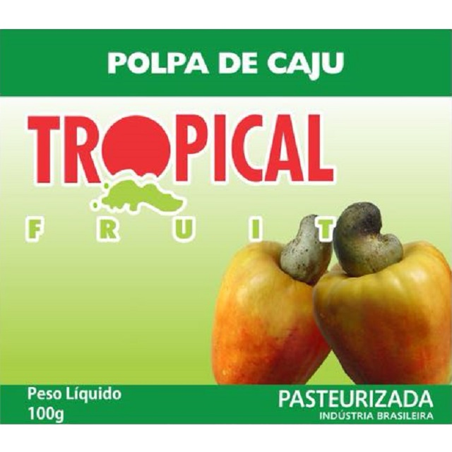 POLPA CAJU TROPICAL 100G