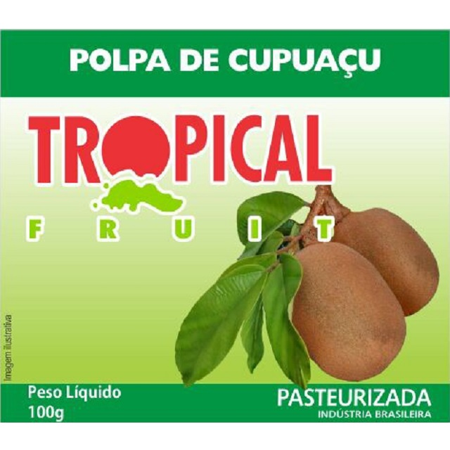 POLPA CUPUACU TROPICAL 100G