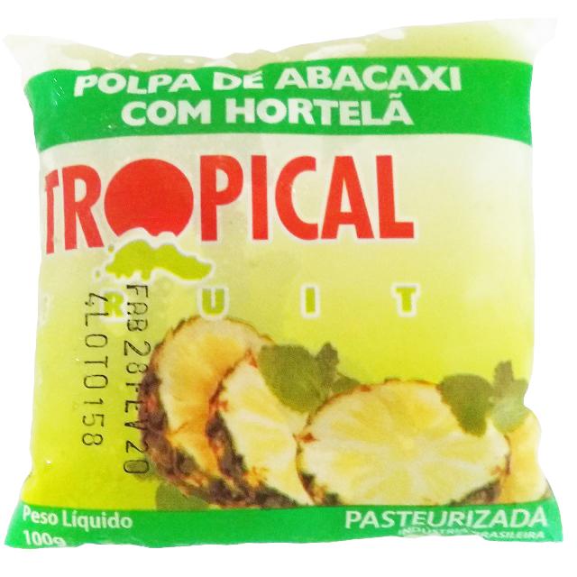 POLPA ABACAXI/HORTE TROPICAL 100G