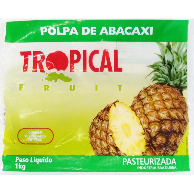 POLPA ABACAXI TROPICAL 100G
