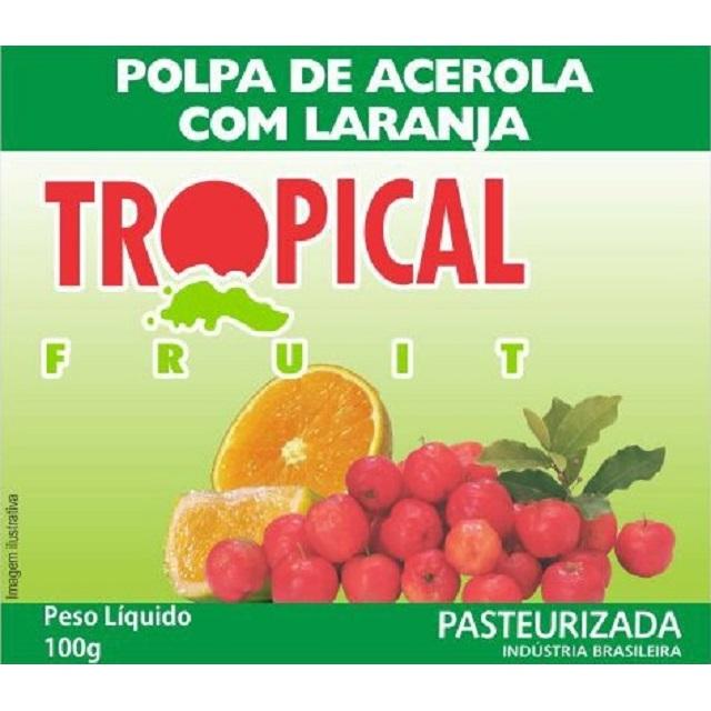 POLPA ACEL/LARANJ TROPICAL 100G