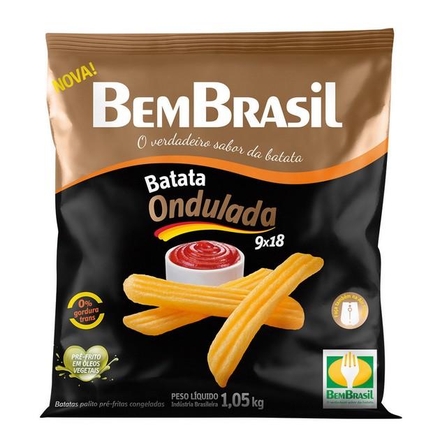 BATATA CORTE ESPECIAL 9X18 ONDULADA BEM BRASIL 1,05KG