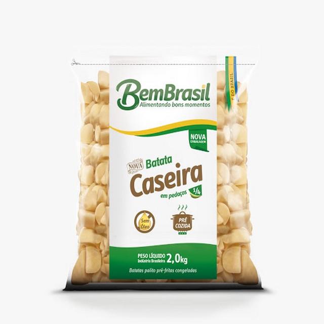 BATATA CASEIRA 1/4 BEM BRASIL 2KG