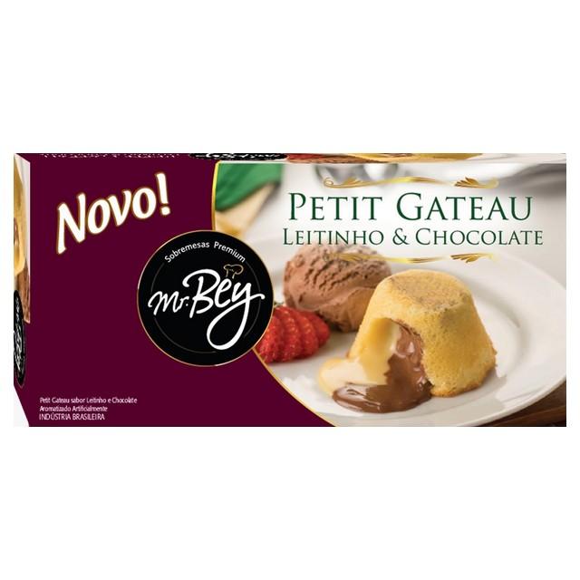 PETIT GATEAU LEITINHO/CHOC MR BEY 80G