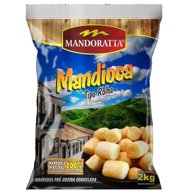 MANDIOCA TIPO ROLHA MANDORATTA 2KG
