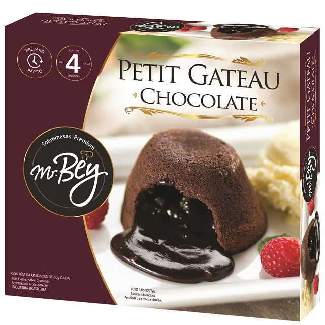 PETIT GATEAU CHOCOLATE MR BEY 60GR